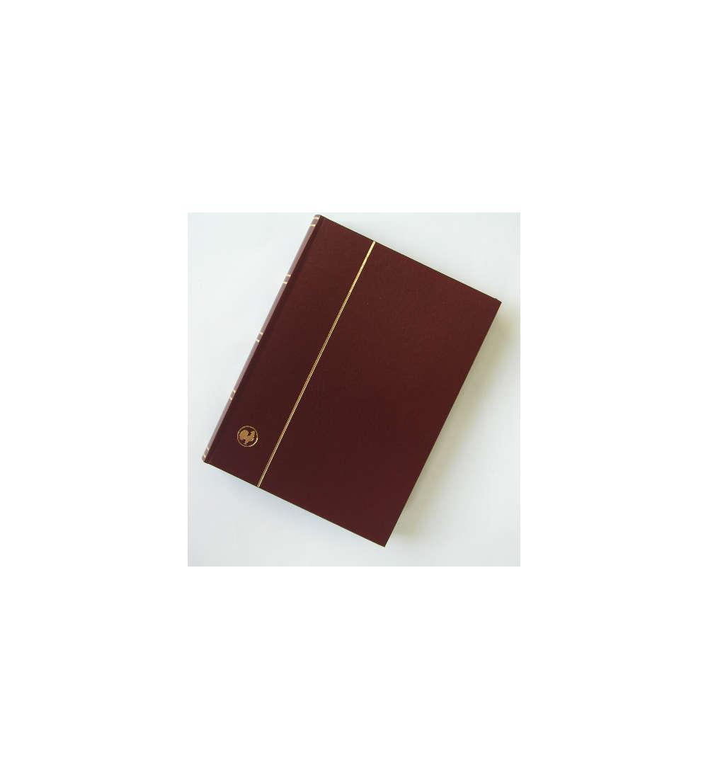 60-pagine-nere-einsteckbuch-einsteckalbum-FRANCOBOLLI-album-wattierter-einban
