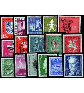 Saar Sondermarken postfrisch Briefmarke