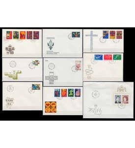 Liechtenstein 1967 FDC Ersttagsbriefe ohne Block 7 Briefmarke