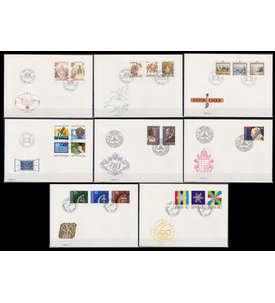 Liechtenstein 1983 FDC Ersttagsbriefe Briefmarke