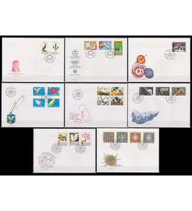 Liechtenstein 1994 FDC Ersttagsbriefe Briefmarke