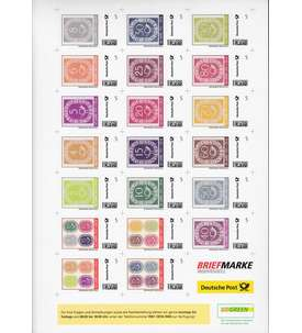 Deutsche Post Posthorn Briefmarke