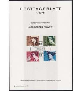BRD Bund ETB 1975 Briefmarke