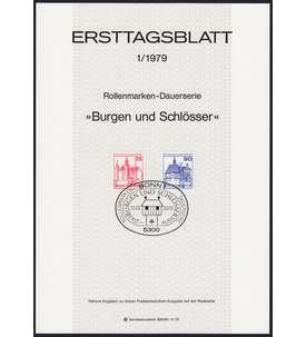 BRD Bund ETB 1979 Briefmarke