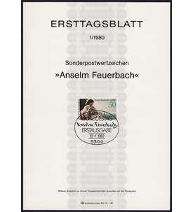 BRD Bund ETB 1980 Briefmarke