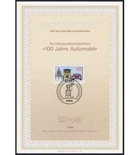 BRD Bund ETB 1986 Briefmarke