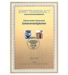BRD Bund ETB 1988 Briefmarke