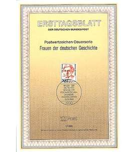 BRD Bund ETB 1989 Briefmarke
