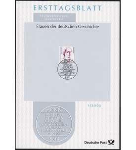 BRD Bund ETB 2003 Briefmarke