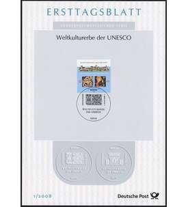 BRD Bund ETB 2008 Briefmarke
