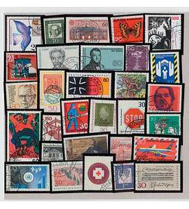 BRD-Kollektion 500 versch. Briefmarke
