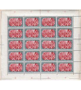 Reprint Deutsches Reich Reichspost 5 Mark Ganzbogen Briefmarke