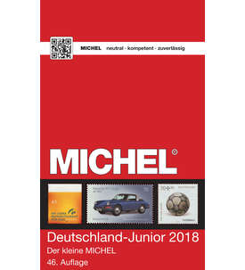Michel Deutschland Junior Katalog 2018 Briefmarke
