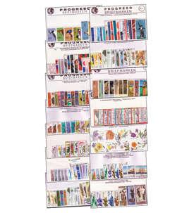 100 Briefmarkenpakete plus Garantiebeilagen Briefmarke