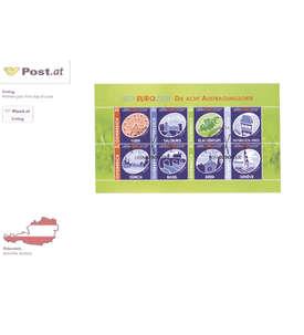 Österreich Nr. 2697-2704 auf Ersttagsbrief