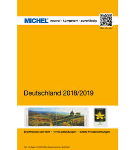 MICHEL Deutschland 2018/2019 in Farbe Briefmarke
