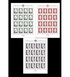 Liechtenstein Nr. 503-505 postfrisch **Bogensatz Briefmarke