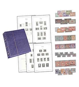 Danzig-Vordruck-Album plus Postfrisch-Ausgaben Briefmarke