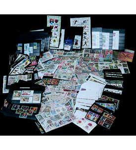 Die Rund um den Globus Kiste Briefmarke