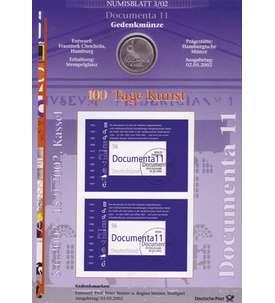 Briefmarken f/ür Sammler Goldhahn BRD Bund Numisblatt 4//2002 UNESCO Welterbe