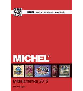 Michel-Katalog Mittelamerika 2015 (ÜK 1/2) in Farbe Briefmarke