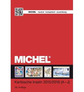Michel Karibische Inseln Band 2/1 (A-J) - 2015/2016 in Farbe Briefmarke