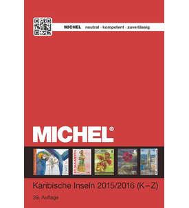 Michel Karibische Inseln Band 2/2 (K-Z) - 2015/2016 in Farbe Briefmarke