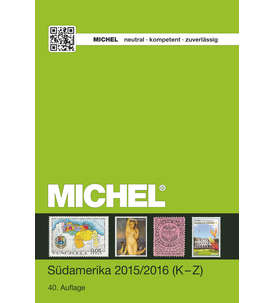 Michel Südamerika Band 3/2 - 2015/2016 (K-Z) Briefmarke
