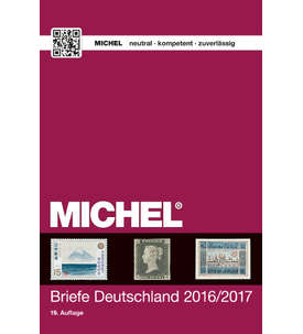MICHEL-Katalog Briefe Deutschland 2016/2017 Briefmarke