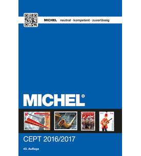 MICHEL-Katalog CEPT 2016/2017 Briefmarke
