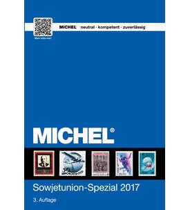 MICHEL-Katalog Europa 2017 Sowjetunion Spezial Briefmarke