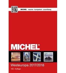 MICHEL-Katalog Europa 2017/18 Band6 (EK6) Westeuropa Briefmarke