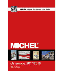 MICHEL-Katalog Europa 2017/18 Band 7 (EK7) Osteuropa Briefmarke