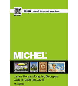 MICHEL Katalog - Japan,Korea,Mongolei,Georgien GUS in Asien Band 9/2 - 2017/2018 Briefmarke