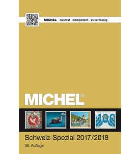 MICHEL KatalogSchweiz Spezial 2017/2018 - 36.Auflagein Farbe Briefmarke