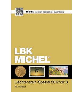 MICHEL KatalogLiechtenstein Spezial 2017/2018 - 36.Auflagein Farbe Briefmarke