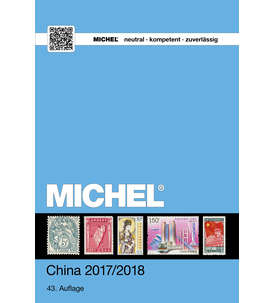 MICHEL Briefmarkenkatalog China Band 9/1 - 2017/2018 Briefmarke