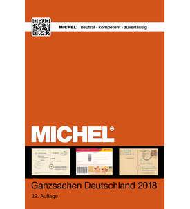 MICHEL-Ganzsachen Deutschland Katalog 2018 - 22. Auflage Briefmarke