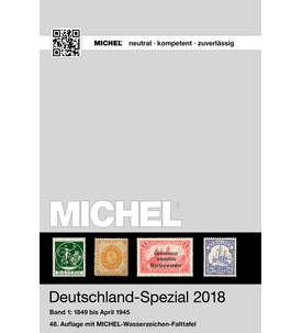 MICHEL Katalog Deutschland-Spezial 2018 Band 1 in Farbe Briefmarke