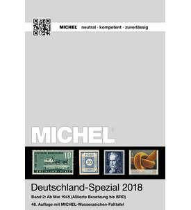MICHEL Katalog Deutschland-Spezial 2018 Band2 in Farbe Briefmarke
