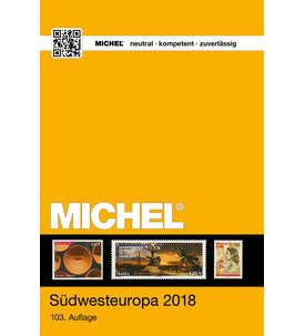 MICHEL-Katalog Europa 2018 Band 2 (EK2) Südwesteuropa Briefmarke