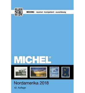 MICHEL Briefmarkenkatalog Nordamerika Band 1/1 - 2018 Briefmarke