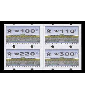 BRD Bund ATM2.2.3 VS1 postfrisch ** senkrechte rückseitige Nr 100/110/220/300 Pfennig