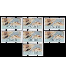 BRD Bund ATM8 VS1 postfrisch ** 5/8/10/20/30/90/150 Cent