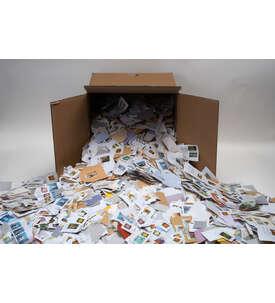 50.000 Marken aus Missions Spenden Briefmarke