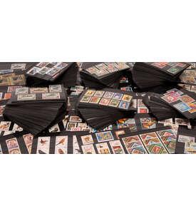 1000 Steckkarten Briefmarke