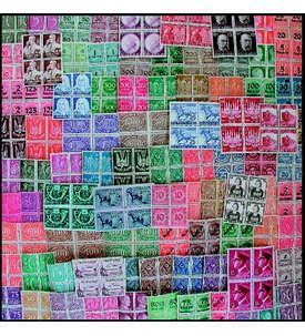 DEUTSCHES REICH - POSTFRISCHE ** VIERERBLÖCKE - 100 VERSCHIEDENE Briefmarke