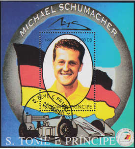 50 Motiv-Blocks mit Michael Schumacher-Block