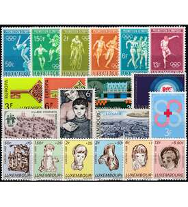 618-636 Briefmarken f/ür Sammler Goldhahn Luxemburg 1960 postfrisch ** Nr