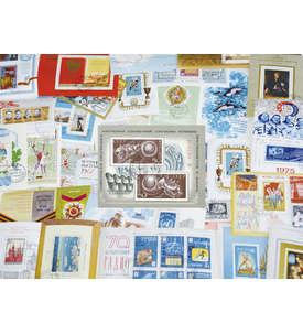 Sowjetunion 32 gestempelte Blocks mit Nr. 82 Briefmarke